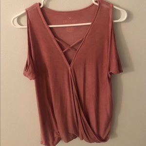 American Eagle Outfitters Tops - Pink American Eagle top
